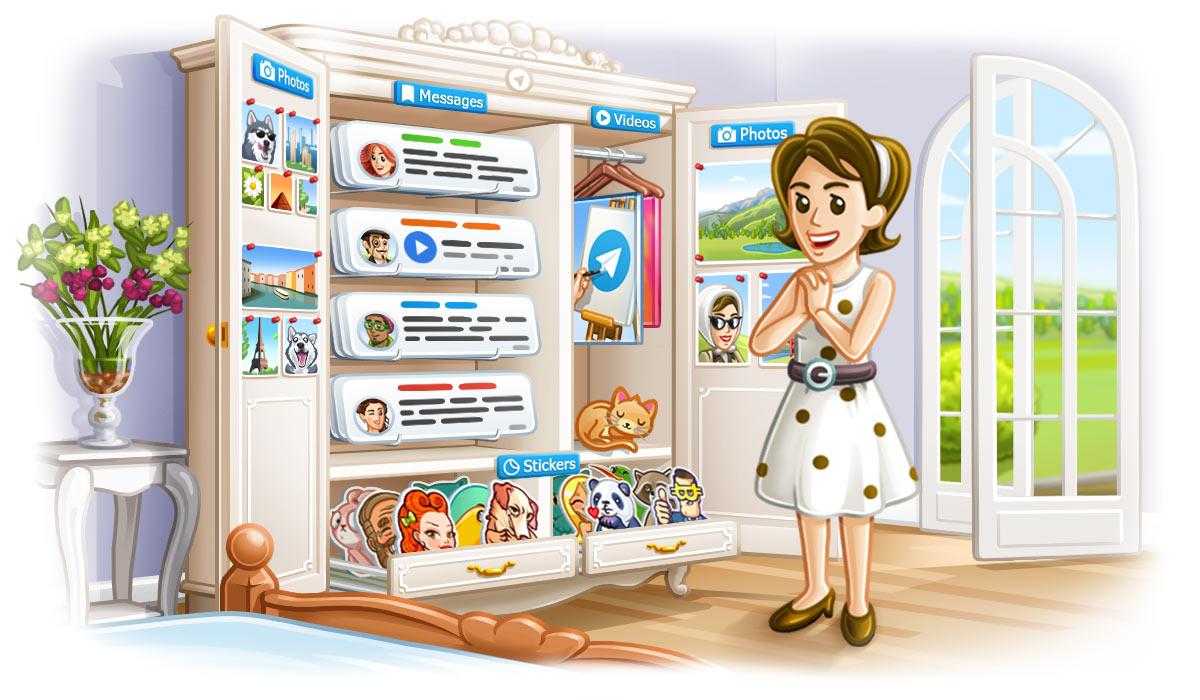 Telegram 4.5 le novità: dalla ricerca migliorata ai messaggi fissati