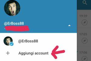 multi-account telegram 4.7 aggiungi numero