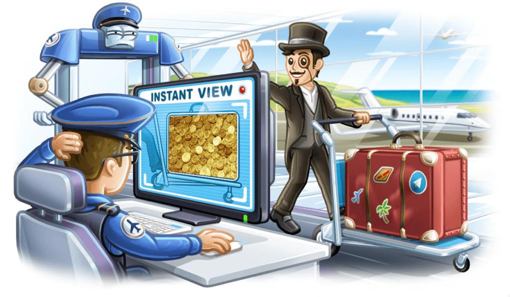 Instant View per Telegram
