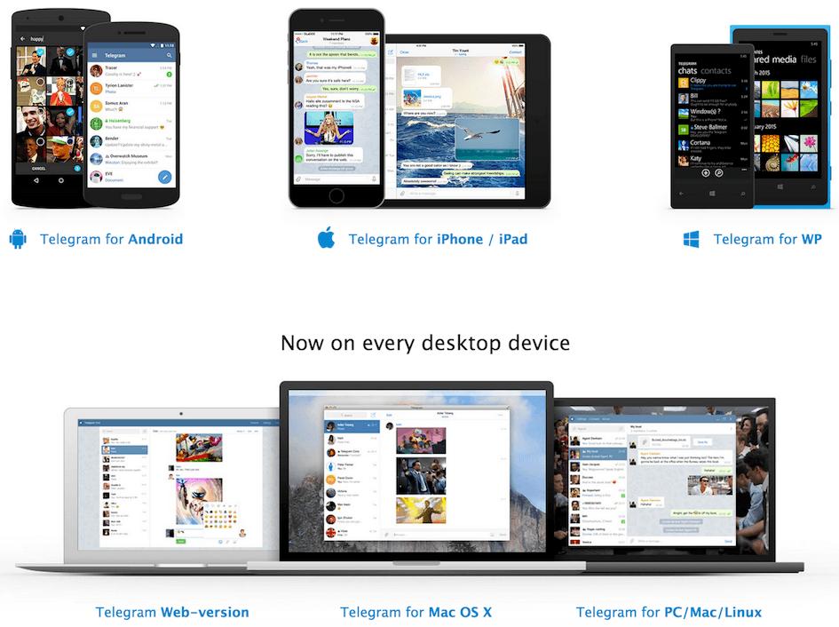 come funziona Telegram
