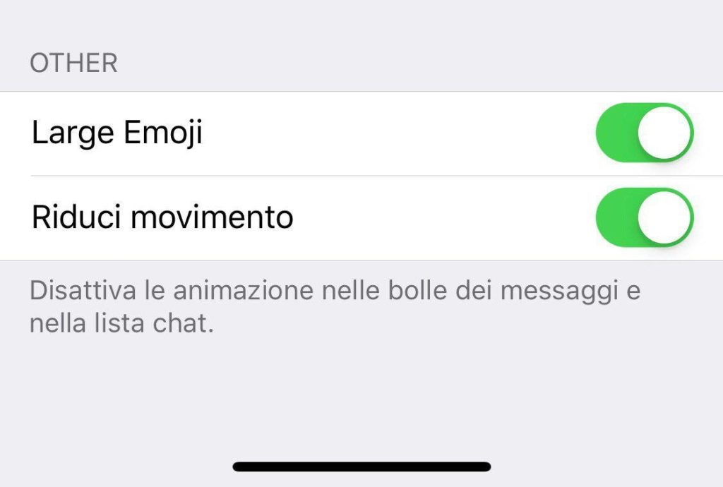 Telegram 5.6 iOS big emoji