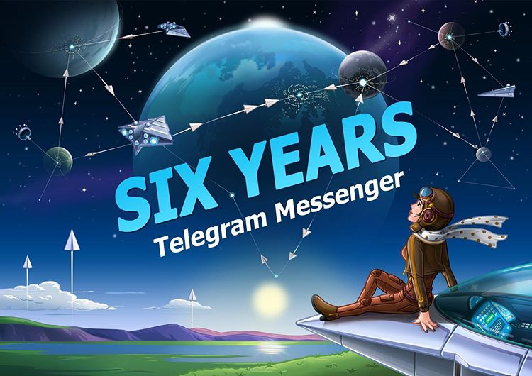 6 years of the telegram